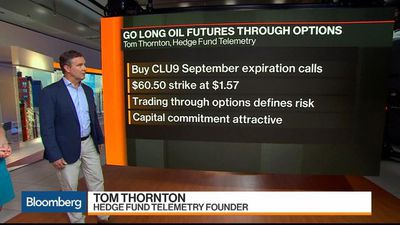 Crude Oil Could Move Above April Highs, Hedge Fund Telemetry's Thornton Says