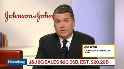 J&J Raises Sales Forecast on Pharmaceutical Growth