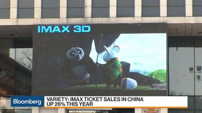 Imax Expands in China With 40 New Theaters