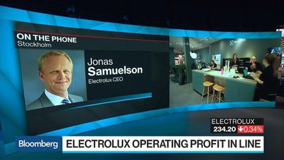 Electrolux CEO Says Price Hikes Have Offset Headwinds