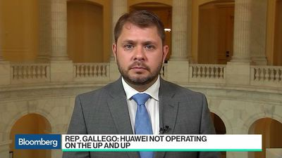 Huawei Not Operating on the 'Up and Up': Rep. Gallego