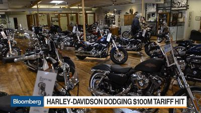 Harley Rises on Overseas Shift Allaying $100M EU Tariff Hit