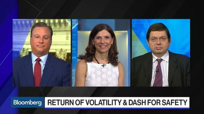 The Return of Volatility and a Dash for Safety