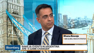 Argentina Default Risk Rising, Not Inevitable: UBS's Baweja