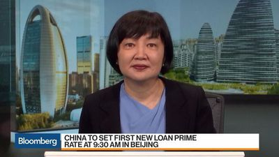 China's Rate Reform Set to Lower Borrowing Costs as Economy Slows