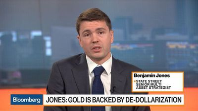 Still More Upside for Gold Longer-Term, Says State Street's Jones