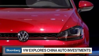 Volkswagen Explores China Auto Investments