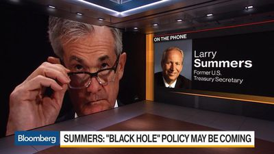 Summers Warns of a Central Bank 'Black Hole' for Policy