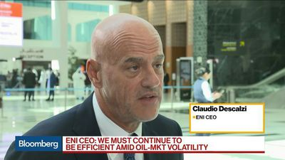 Eni CEO Descalzi Sees Brent Crude at $60-$65 in 2020