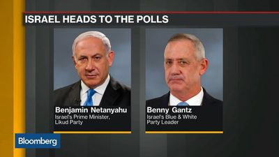 Deadlocked Israel Rivals Set to Slug Out Year's Second Election