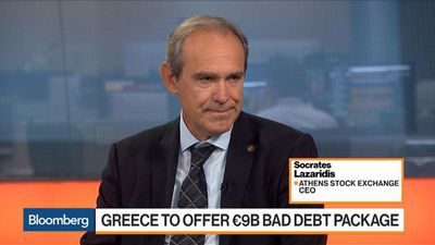 Greek Stocks Have More Room to Go, Says Athens Stock Exchange CEO