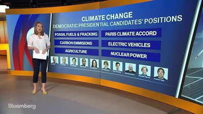 Democratic Candidates Stance on Climate Change