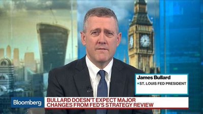 Bullard Says Fed Must Consider `Additional Insurance' in Next Meetings