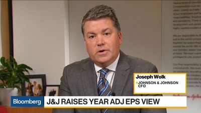 Johnson & Johnson to `Grow Above Market' in 2020, CFO Says