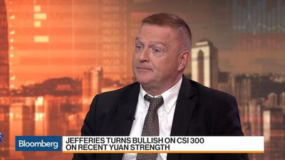 Jefferies Has Turned 'Bullish' on China's CSI 300: Darby