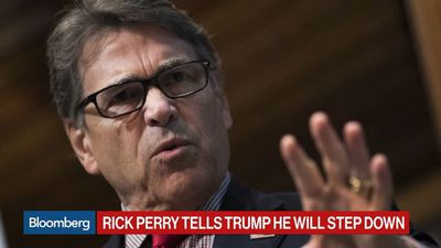 Rick Perry Tells Trump He Plans to Step Down as Energy Secretary