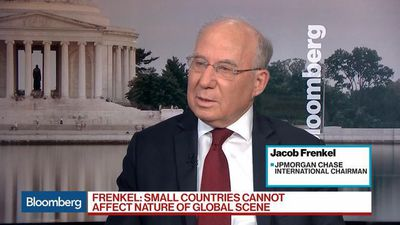 Composition of World Economy Has Changed Dramatically: JPM's Frenkel