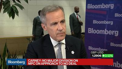BOE's Carney on Monetary Policy and U.K. Economy After Brexit