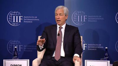 JPMorgan CEO Jamie Dimon Comments on Negative Rates