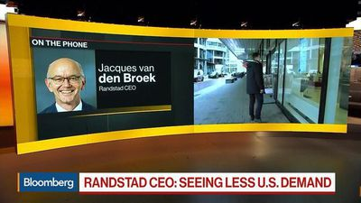 Randstad CEO Sees Less U.S. Demand