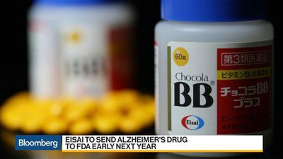 Eisai Set to Rise on Hopes for Alzheimer's Drug