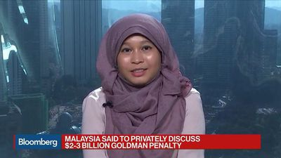Malaysia Said to Privately Discuss $2B-$3B Goldman Penalty Over 1MDB