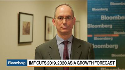 IMF's Ostry Sees Asia Risks Still Weighted to the Downside