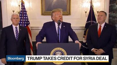 Trump Takes Credit for Syria Deal