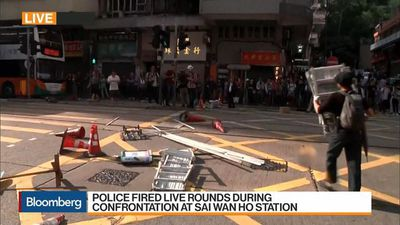 Two Teenage Protesters Shot by Hong Kong Police