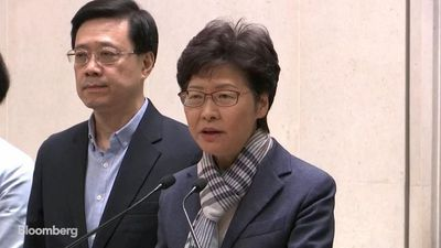 Hong Kong's Lam: Violence Will Not Make Government Yield to Pressure