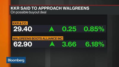 KKR Said to Make Approach to Walgreens on Buyout Deal