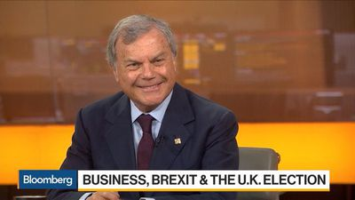 `Singapore on Steroids': Martin Sorrell's Vision for Post-Brexit U.K. Economy
