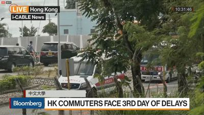 Hong Kong Commuters Face Third Day of Delays