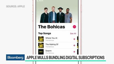 Apple Mulls Bundling Digital Subscriptions to Woo Subscribers