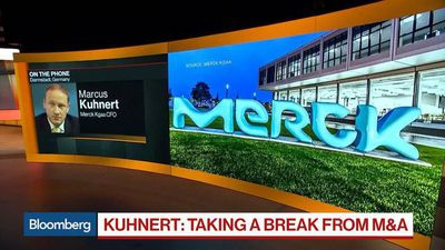 Merck KGaA CFO on M&A Hiatus, Third-Quarter Earnings