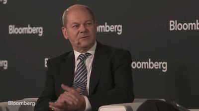 German Finance Minister Scholz on German Growth, Global Economy