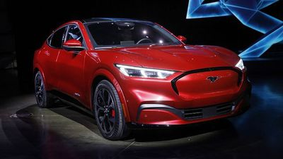 Ford Mustang Goes Electric as Reinvented Mach-E SUV