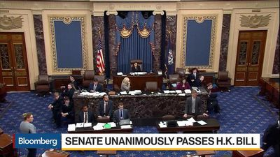 U.S. Senate Unanimously Passes Hong Kong Bill