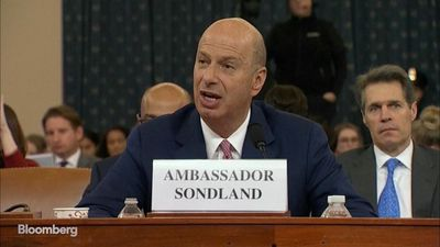 Ambassador Sondland Says There Was a 'Quid Pro Quo' With Ukraine