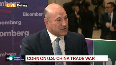 Ex-NEC Director Cohn Sees U.S.-China in a Trade Skirmish, Not War