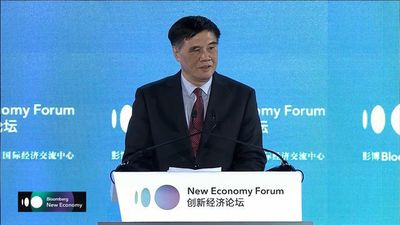 CCIEE CEO Zhang Opening Remarks at New Economy Forum