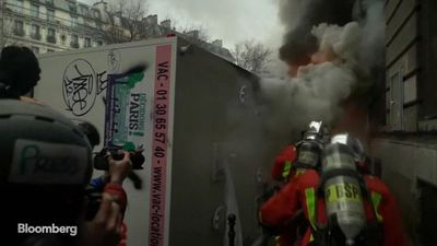 French Police Fire Tear Gas as Protests Escalate