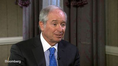 Schwarzman Says Geopolitical Risks Are Biggest Economic Challenge