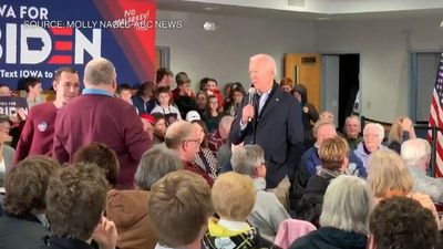 Biden Calls Iowa Man 'Damn Liar,' Issues Push-Up Challenge