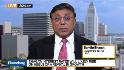 No recession in 2020, says Whittier Trust CIO Sandip Bhagat