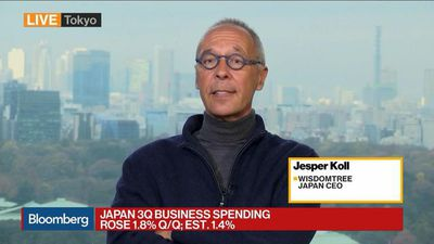 WisdomTree Japan CEO Koll Sees Massive Boom of M&As in 2020