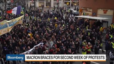 Macron Braces for Second Week of Protests