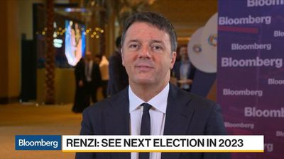 Renzi: Next General Election for Italy in 2023