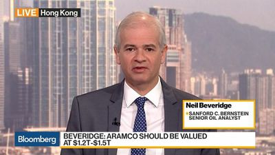 Aramco Fair Value Should Be Between $1.3T - $1.4T: Sanford C. Bernstein