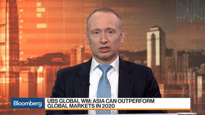 UBS Global WM Sees More Upside for Asia Ex-Japan Stocks